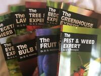 The Expert Gardening books - Dr Hessayon range