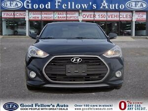 2016 Hyundai Veloster TURBO, LEATHER, SUNROOF, NAVI, CAMERA, 1.6