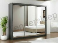 🧬SALE END SOON🧬 NEW LUX 3 SLIDING DOORS WARDROBE IN 250CM SIZE & IN MULTI COLORS-CALL NOW..