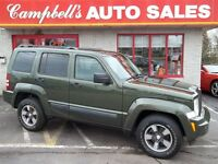 2008 Jeep Liberty Sport AWD!! CRUISE!! ALLOYS!! PW PL NEWLY INSP