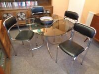 SoudexVinyl, Original 1960's/70's Table & 4 Chairs