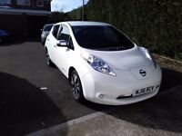 2016 Nissan LEAF Tekna 30kW [6.6kW Charger] Electric