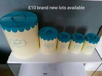 kitchen storage canisters free delivery in leicestershire