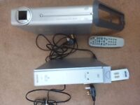 Sony and Philips Freeview boxes with remotes