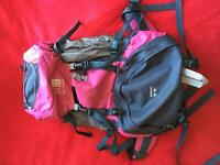 Karrimor Wildcat backpack 60-65l good condition
