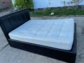 🚚🚚🚚✅✅✅Beautiful Ottoman Double Bed With Mattress For Sale Free Delivery Radius Apply ✅✅✅