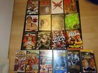 Huge WWE Collection- DVDs, Trading cards, books, figures, more