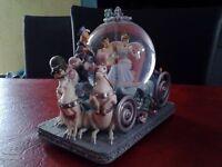 Rare 50th Anniversary Disney Cinderella Snowglobe - Ideal Christmas Gift