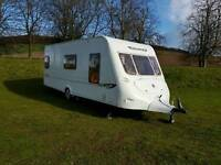Fleetwood colchester 4 berth fitted motor mover