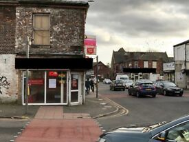 Established Takeaway Hot Food Shop Business For Sale - Busy Main Road - Flat Included - Cheap Rent