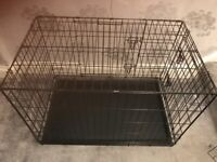 Large dog cage from pets at home