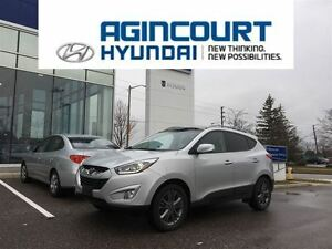 2014 Hyundai Tucson GLS/PANROMIC SUNROOF/ONLY 30616KMS!!!