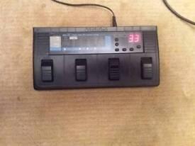 Zoom 1010 multi fx pedal