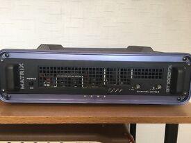 Matrix GT1000FX (2U) FRFR Amplifier and CFR 12 FRFR Speakers