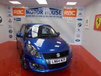 Suzuki Swift SPORT(SAT NAV) FREE MOT'S AS LONG AS YOU OWN THE CAR!!! (blue) 2014