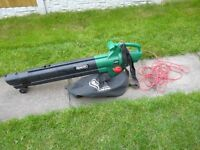 Qualcast garden leaf blower/vac used once