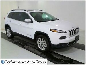 2016 Jeep Cherokee Limited * NAV * Pano Roof * 4x4