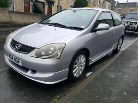 Honda civic 1.6 petrol (low mileage)