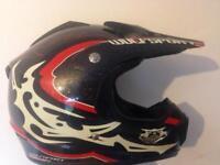 Wulfsport Motocross Helmet XS red/black/white