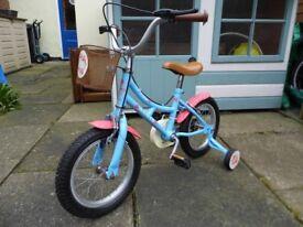 """Girls Bicycle / Cycle / Bike - Dawes Lil Duchess 14 """" / inch Wheels"""