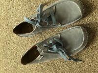 Blue Clark's Shoes size 7