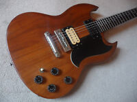 Gibson, The SG. 1979, made in Nashville. No breaks or repairs. Ebony board. Very rare.