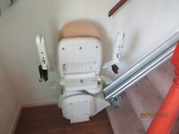 Stairlift left hand side of stairs, brand new fitted but never used..