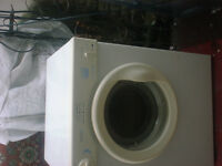 Small 3kg White Knight vented dryer