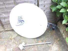 Satellite dish for Asian channels