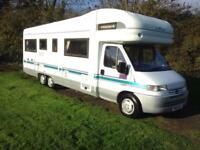 Auto Trale Chieftain 5/6 berth motorhome for sale