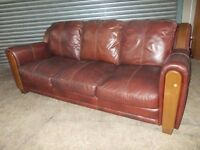 Quality Used Leather 3-seater Sofas