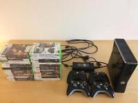 Xbox 360 S + 34 games