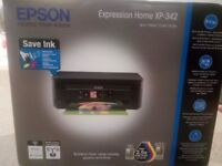 """NEW"" EPSON Expression Home XP-342 WiFi Printer, Scan and Copy with Memory Card slot"