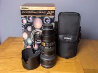 Nikon (Nikkor) 70-200 f/2.8g ED VR lens