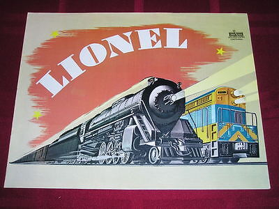 ORIGINAL POSTWAR 1969 GOLDEN SPIKE CENTENNIEL LIONEL TRAIN BROCHURE NICE on Rummage