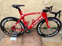 """Trek Madone 9.9 Aero Bike H1 54"""" frame"""