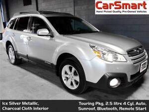 2014 Subaru Outback 2.5i Touring Pkg, Remote Start, Bluetooth, S