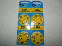 Boots 10ZA Hearing Aid Batteries - 4 packs