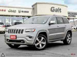 2015 Jeep Grand Cherokee OVERLAND | DIESEL | NAVI | ROOF | ONLY