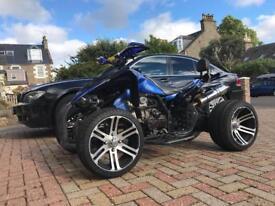 Road legal quadbike 250cc 1300 miles