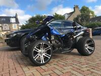 Road legal quadbike 250cc 1300 miles
