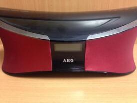 AEG Bluetooth Speaker with Remote