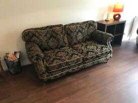 2 piece suite. 2 Seater sofa and Armchair
