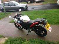 Honda cbr 125 new shape 1 owner