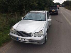 Mercedes c200 kompresser auto