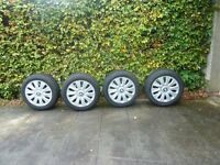 Goodyear UltraGrip 7+ 205/55 R16 91H - with BMW covers