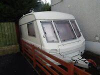 SOLD SOLD SOLD CORNICHE 2-3 berth caravan in good condition