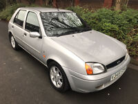 81k miles only! 1999 Ford Fiesta 1.2 Ghia - 5 door, 10 months MOT, Air-con, Alloys, Electric windows