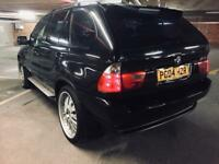 """2004 bmw x5 3.0d sport auto facelift 1 off spec immaculate trouble free cond 22"""" wheels blk on blk"""