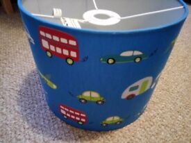 Boy's room lampshade